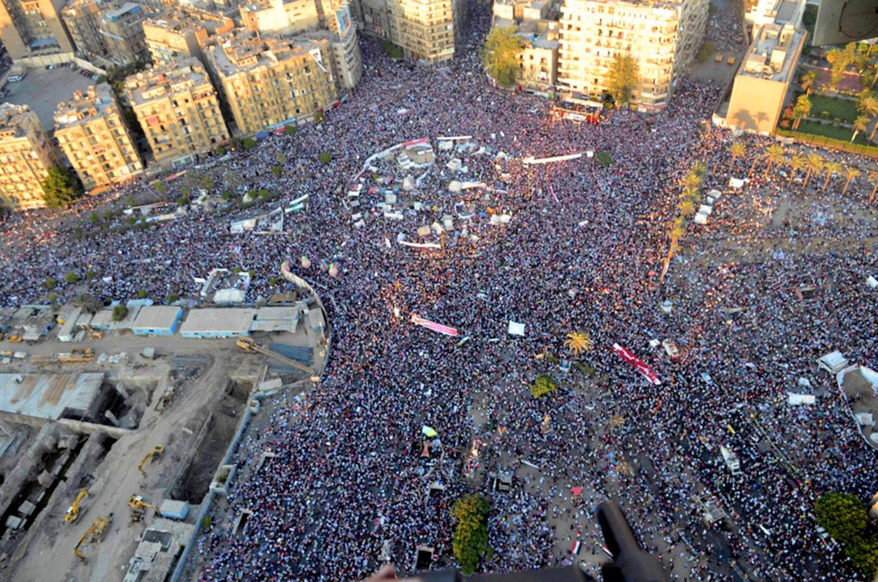 Tahrir Square Round 2 Impeaching Morsi